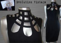 I love bondage dresses.