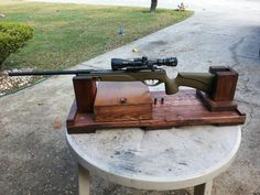 Finished rifle rest. What do you think