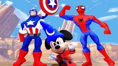 Nhạc Thiếu Nhi Tiếng Anh Vui Nhộn | chuột Mickey, người nhện, đội trưởng...