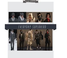 Autumn Winter 2017 Key Trends – Rebels & Superheroes   Trend Illustrated Fall Winter 2017 Men