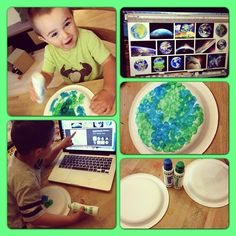 Homeschool Preschool- Earth Day WifeyMommySuperHuman.com