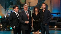 Donny and Marie Osmond on Jay Leno's show along with guest the late Paul Walker.