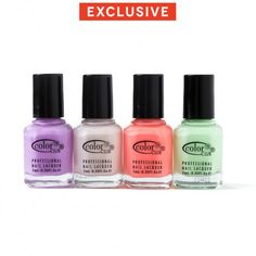 Nail polish from the Wanderlust collection, featured in our #JanesNightIn hostess gift baskets