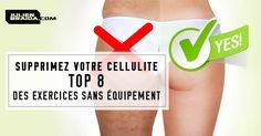 8 Exercices Anti Cellulite Efficaces Pour Perdre la Culotte de Cheval et Enlever la Cellulite Pour de Bon