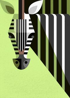 Zebra illustration - Josh Brill
