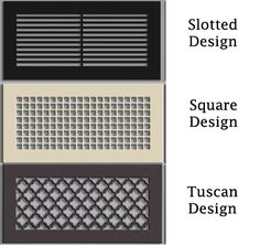 Decorative Wall Registers a/c wall register options, air vent love | for the home