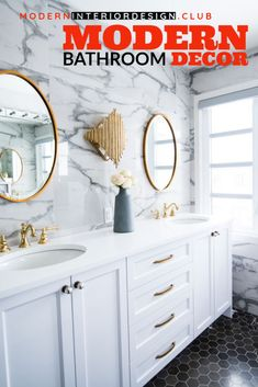Modern Bathroom Design Ideas Plus Tips On How. -- Learn more by visiting the image link. Interior Design Work, Scandinavian Interior Design, Bathroom Interior Design, Bathroom Designs, Bathroom Trends, Modern Bathroom Decor, Modern Farmhouse Decor, Ikea, Custom Kitchens