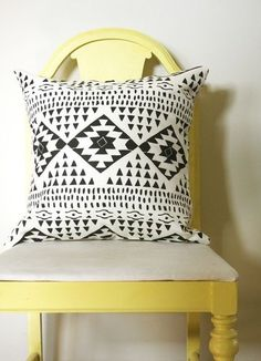 modern southwest decor | contemporary pillows by Etsy