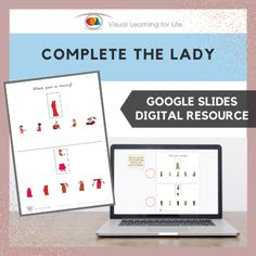 This digitally interactive resource is designed for use with Google Slides. This resource contains 10 slides in total. Answer sheets are included.The student must identify the piece that is missing from each picture, and drag the red circle to the correct answer.