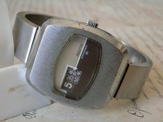 rare vintage PROVITA  25 jewels AUTOMATIC digital by asyawatches, $139.00