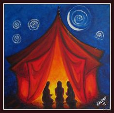 red tent circle - Google Search