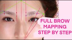 Eyebrow Makeup Products, Best Eyebrow Makeup, Permanent Makeup Eyebrows, How To Make Eyebrows, Eye Make Up, Straight Eyebrows, Eyeliner Application, Eyebrow Design, Face Mapping