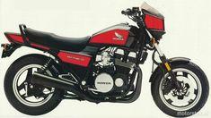 CB 750SC Nighthawk, 1984-1986