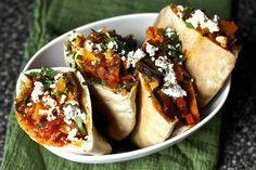 three-pepper shakshuka with feta and za'atar by smitten, via Flickr