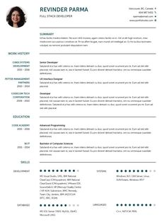 Cv Template English Cv Template Resume Templates Resume