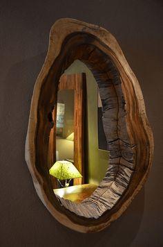 33 peças decorativas e móveis RÚSTICOS de madeira bruta - Arteblog