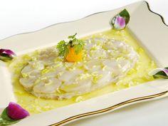 Grossiste alimentaire -Saint-Jacques minute et purée d'artichaut, vinaigrette tranchée à l'huile de pistache- Brake France
