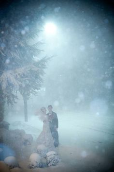 #TBT! One of our favorite Westwood Weddings from a snowy day in 2010