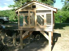 I build these rabbit hutches from pallets and reclaimed lumber,  The cage and nest box on this one is made of solid oak, will last a lifetime. Call Evie @ 706-266-9198 $175