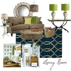 """mom and dad living room"" by amykwalton1 on Polyvore"
