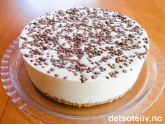 Sweets Cake, Ice Cream Recipes, Let Them Eat Cake, Tiramisu, Nom Nom, Food And Drink, Pudding, Cheese, Cookies