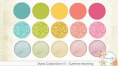 Styles Collection n11 - Summer Morning