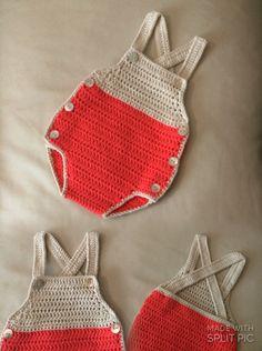 Peto  talla 1-3 meses #mantas #crochet #hechoamano #handmade #miabuelangelita #lana #algodón #ropadebebe #bebe #canastilla #canastilladebebé #cubrepañal #culotes #jersey #rebecas #peleles #petos