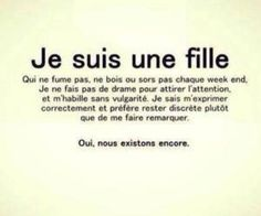 Eh oui on est en disparition. Best Quotes, Love Quotes, Inspirational Quotes, Positive Attitude, Positive Vibes, French Quotes, Bad Mood, True Facts, Some Words