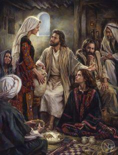 At Jesus' Feet -  Nathan Greene