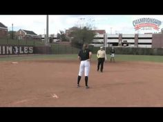 Teach your players how to get the ball to base faster and get the out with Canadian National Team Assistant Coach, Lonni Alameda. See a freeze a fielding dri. Elite Softball, Softball Drills, Flipping, Coaching, Training
