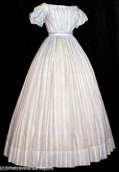 Start || Summer dress ca. 1860s