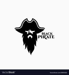 Pirate logo Royalty Free Vector Image - VectorStock