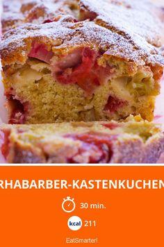 Erdbeer Rhabarber Joghurtkuchen Rezept Erdbeeren Und Kuchen