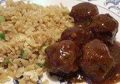 KOREAN MEATBALLS - Linda's Low Carb Menus & Recipes