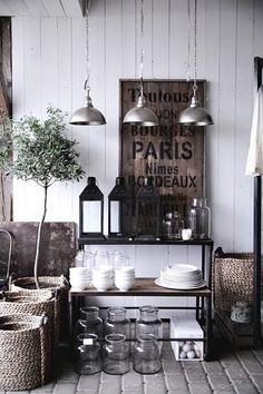 Vintage lighting inspiration | Vintage Industrial Style
