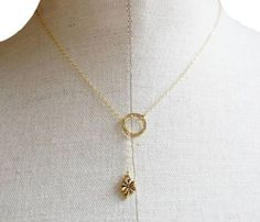The Luck of the Irish -delicate four leaf clover necklace