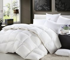 the egyptian bedding luxurious 800 thread count hungarian goose down comforter king size is a good choice for daily use and year round use - Down Comforter King