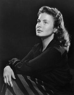 Ingrid Bergman by Yousuf Karsh
