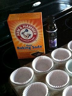 Make Your Own Freshening Disks (the blog explains it's use for diaper boxes, but this is a great idea for those rooms or spaces in your home that tend to have an...odor)