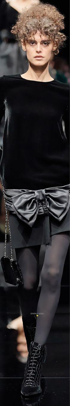 Giorgio Armani, Emporio Armani, All Fashion, Winter Fashion, Velvet Lounge, Spring And Fall, Couture, Model, Collection