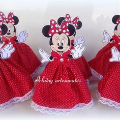 Tubete Minie vermelho de vestido Minnie Mouse Birthday Theme, Minnie Mouse Party, Mouse Parties, 2nd Birthday, Happy Birthday, Micky Mouse Club House, Sugar Bears, Baby Mickey, Mini Mouse
