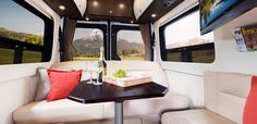 2015 Free Spirit Shown in Espresso Brown Cabinetry with Optional Glamour Package.