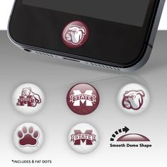 Mississippi State Bulldogs Fat Dots