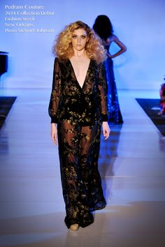 Pedram Couture FW 2014 Collection Début at Fashion Week New Orleans FWNO | www.pedramcouture... #pedramcouture #couture #fashionweek #fwno