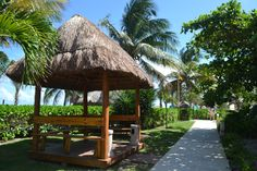 Our #Smoking #Palapa is now available at the main pool! Be #Eco www.sandos.com