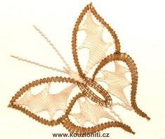 25 - motýl v barvách béžové a zlaté