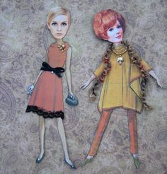Holly Loves Art: I Love Paper Dolls!  http://hollylovesart.blogspot.com/2011/01/i-love-paper-dolls.html
