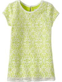 Lace Shift Dresses for Baby   $18