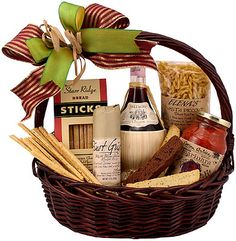 Dinner and Chianti Classic Wine Gift Basket