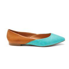 Introducing Stitch Fix Shoes: Colorblock Flats